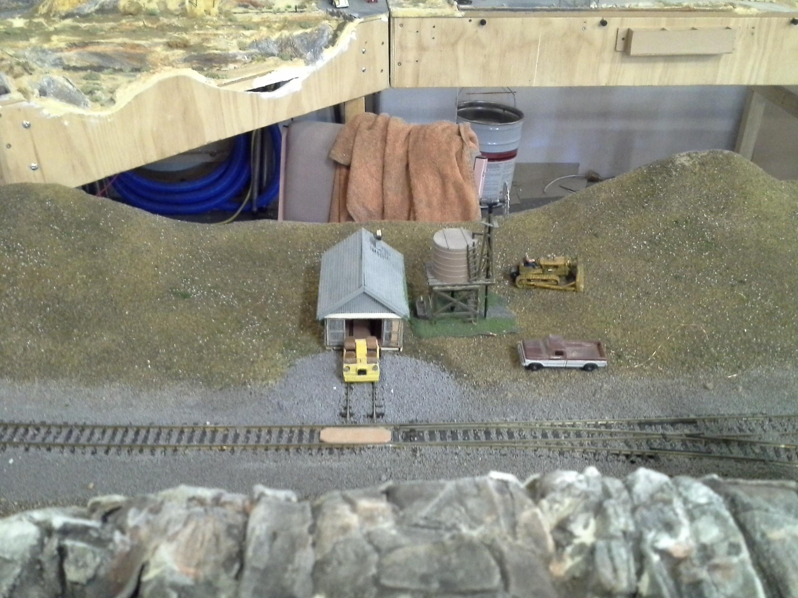 logging | Model train scenery, Model railroad, Model railway