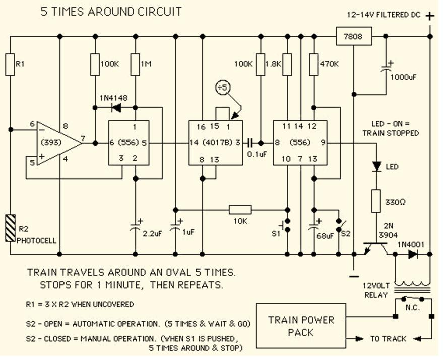 Circuit why to use diagrams for designing model train circuits model model train wiring diagrams at bayanpartner.co