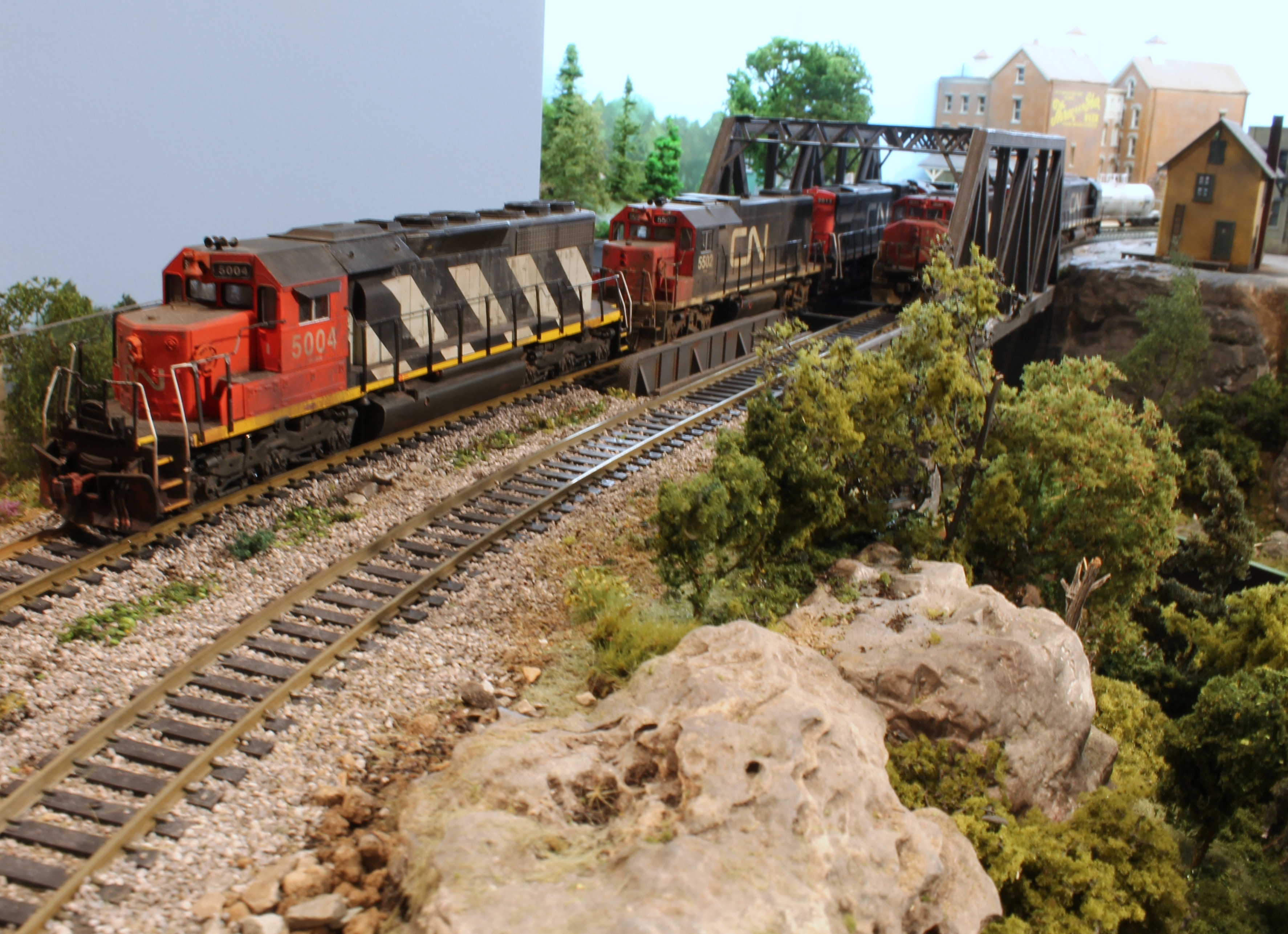 Model trains on Pinterest | Model Train, Ho Scale and ...