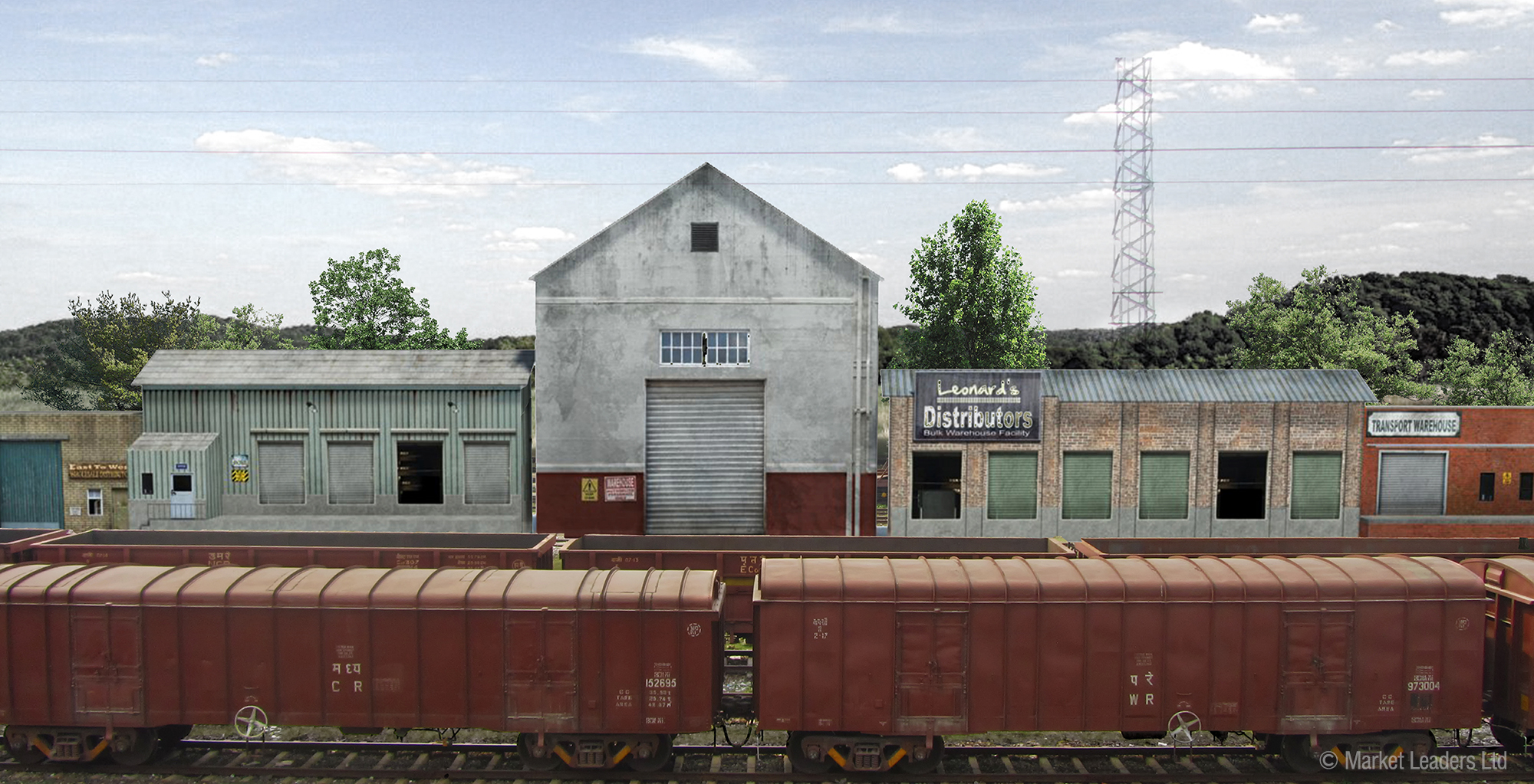 Less Model: Knowing Model railway industrial buildings