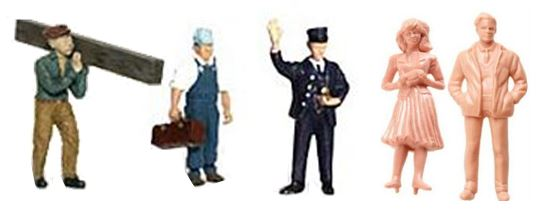 model railroad figures