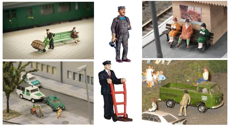 model railway people