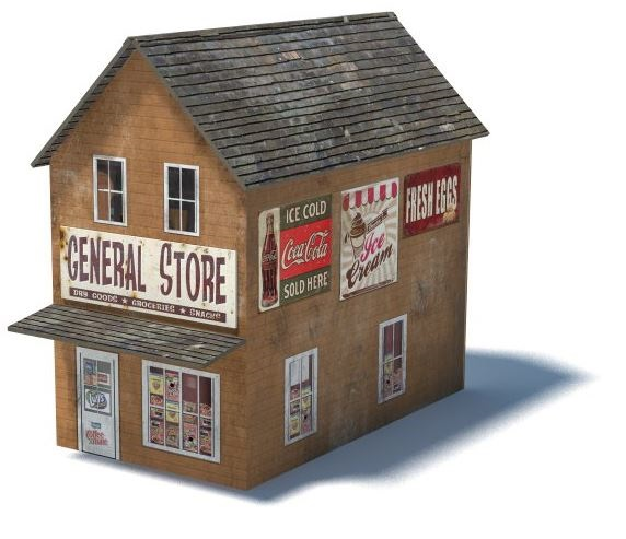 Priceless image throughout free printable model railway buildings