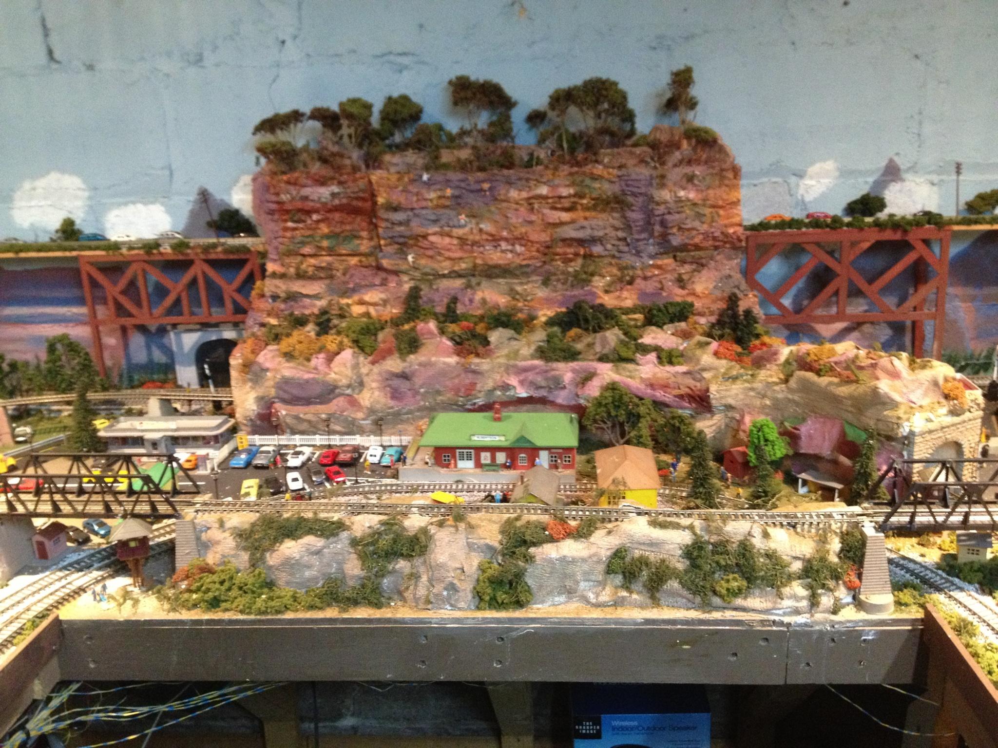 Joes Railroad Layout