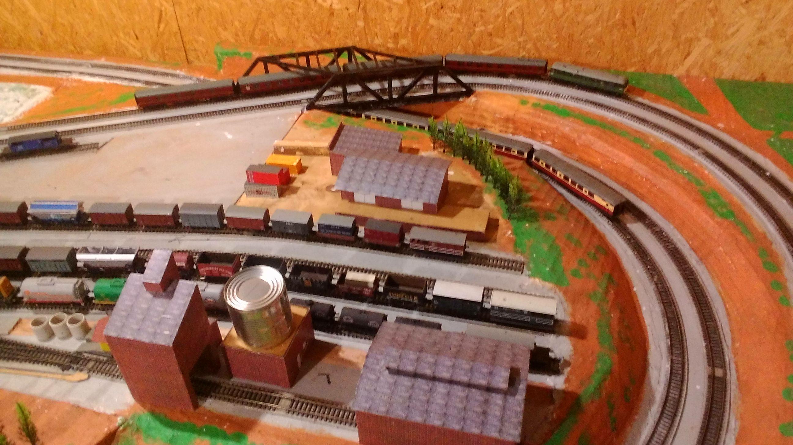 Railroad Line Forums | Model train scenery, Model trains