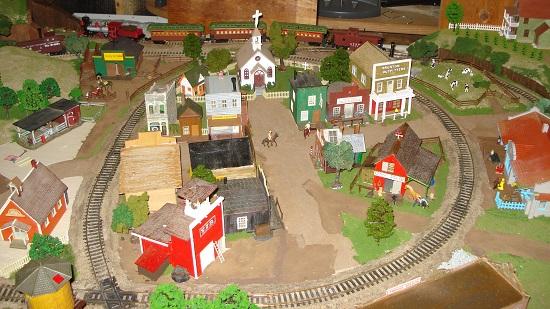 model train layout oklahoma