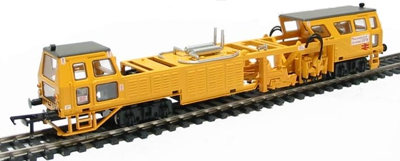 tamper track machine model trains