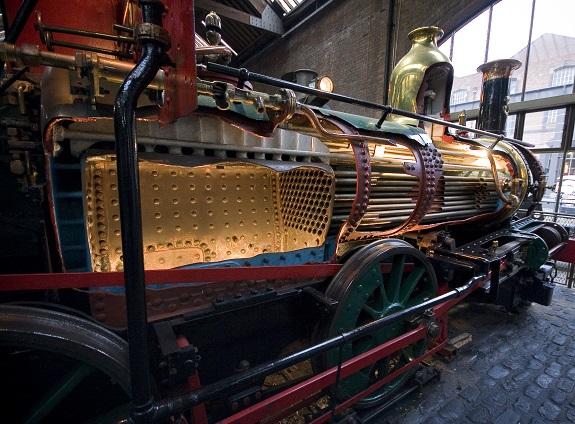 inside a steam engine