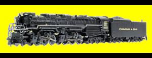 Rivarossi Allegheny Locomotive