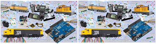 model trains dcc arduino difference
