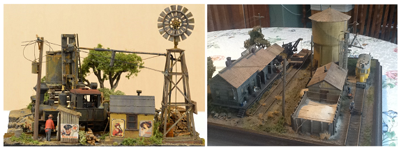model railroad dioramas
