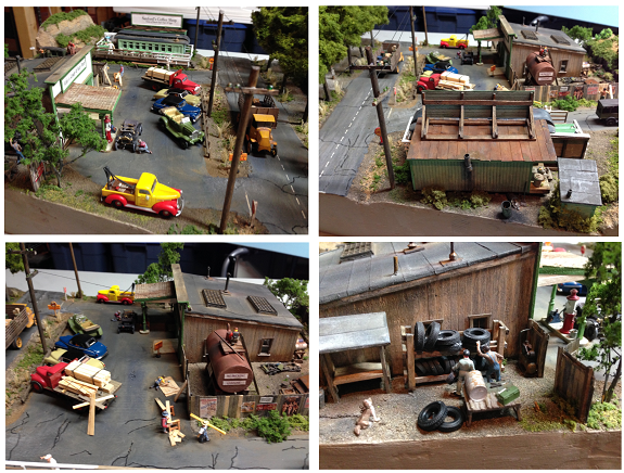 dioramas for model trains