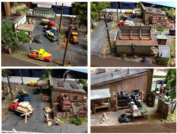 dioramas for model trains