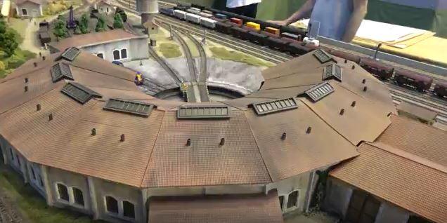 Guilherand-Granges - Model train show-France3