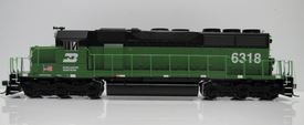 Burlington Northern Locomotive #6318