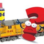 wd40 on model trains