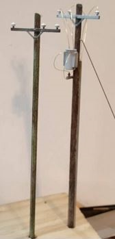 telegraph pole n scale
