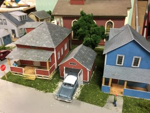 model layout houses scale ho