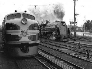trains australia history