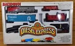 Bachmann Diesel Express Train Set