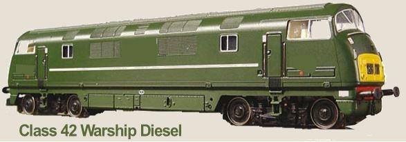 Class 42 Warship Diesel Locomotive