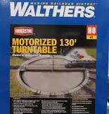Walthers Cornerstone Motorized 130' Turntable