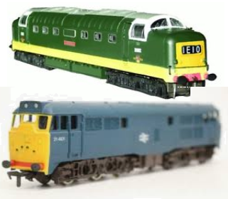airfix hornby locomotives
