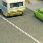model train layout road lines