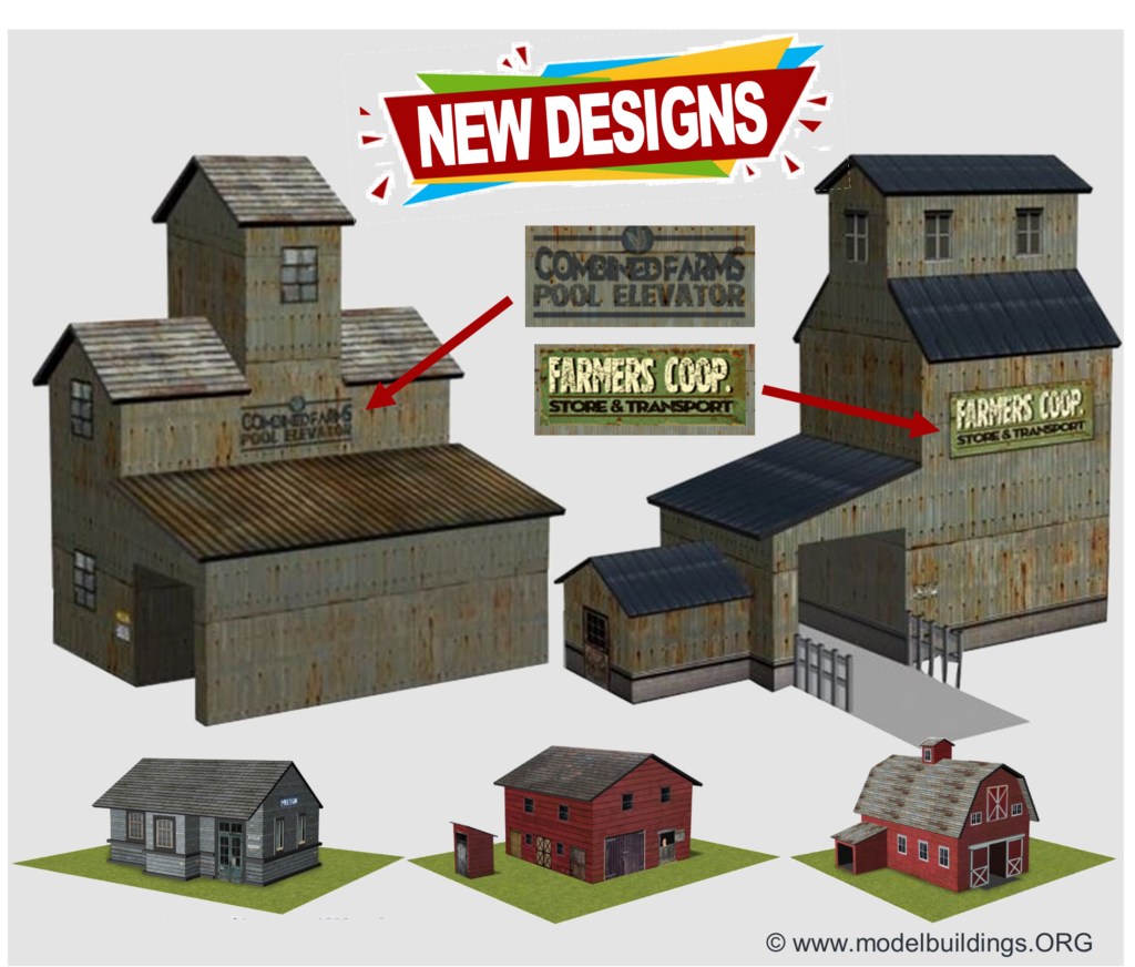 grain elevator scale farm models