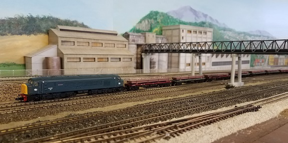 BR Class 44 with Steel HMRG