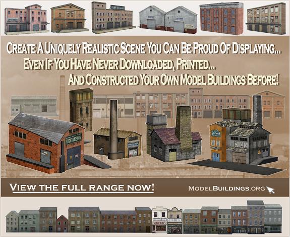HO-OO-N-scale building plans