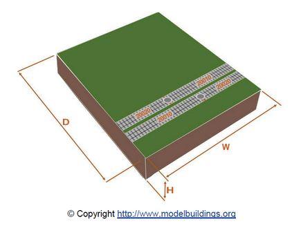 N Scale Modular Track for Model Railroads