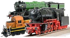 3 locomotives ho scale
