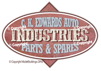 edwards auto industries model trains