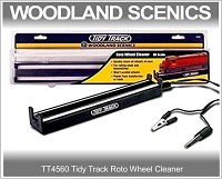 Woodlands Scenic TT4560 Tidy Track Roto Wheel Cleaner