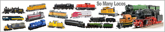 Model Train Locomotives HO scale