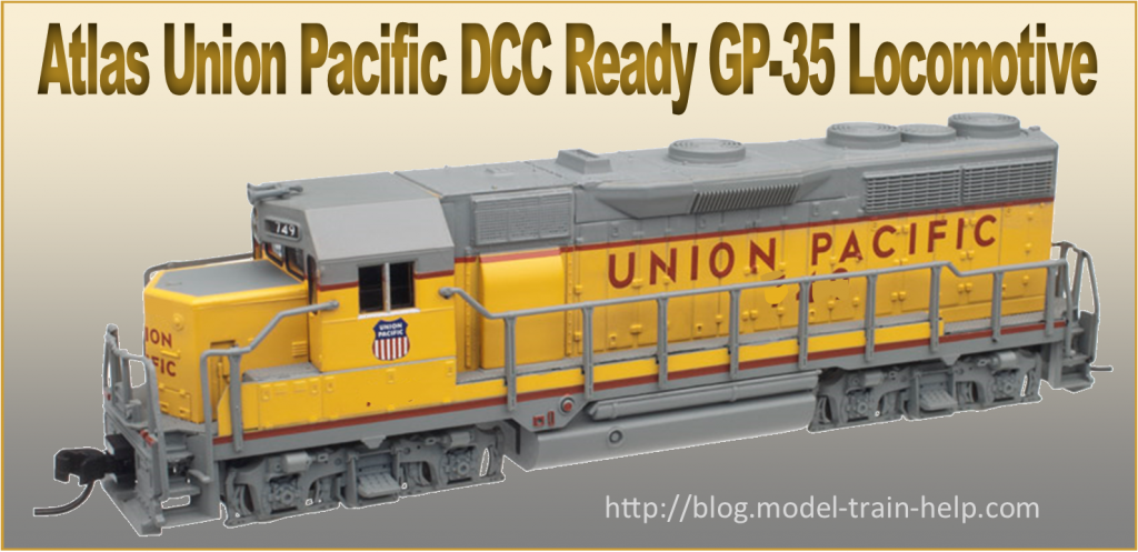 Atlas Union Pacific DCC Ready GP-35 Loco N Scale