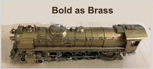 brass locomotive