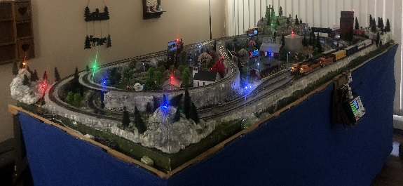 train layout with Digitrax Zephyr DCS52